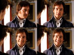 This is THE SMILE... Mr. Darcy