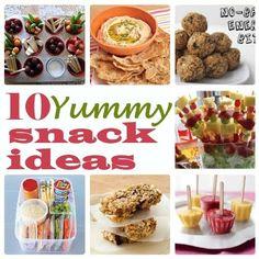 10 Snack Ideas by MyBlessedLife.net