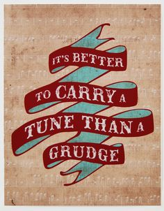 Carry a Tune Print