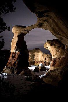 The Arch. The Devils Playground in Escalante , Utah.