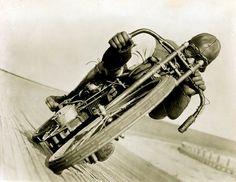 harley davidson, board track, vintage motorcycles, bike, racing