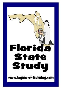 Florida State Study and printable map