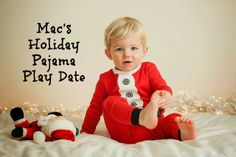 How to Host a Holiday Pajama Play Date for kids - invitation, photo booth ideas, toddler crafts and kid-friendly food