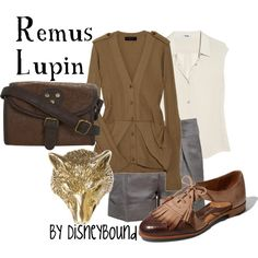 Remus Lupin, created by #lalakay on #polyvore. #fashion #style Burberry Prorsum #Acne