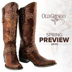 LOVE THESE OLD GRINGO BOOTS!!