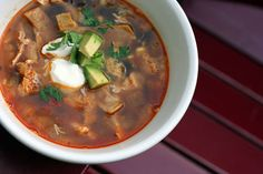Searching for the Best Tortilla Soup ever