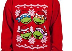 Amazing TMNT and Jem Christmas sweaters to rock this season