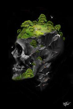FANTASMAGORIK® GREEN STONE by obery nicolas, via Behance