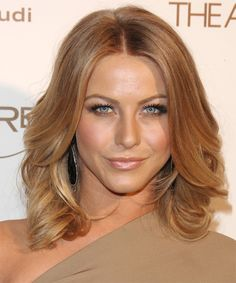 julianne hough, warm colors, hair colors, celebrity hairstyles, summer hair