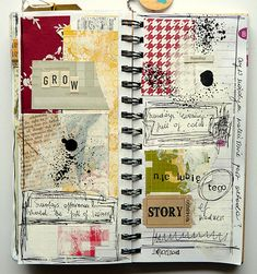 Sunday - art journal pages by mumkaa_ http://www.flickr.com/photos/mumkaa_/ http://www.mumkaa.blogspot.com/