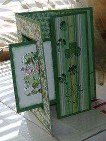 Mary Lee's Stamping: Double Tri-fold card