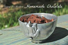 Easy Homemade Chocolate