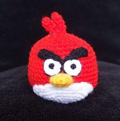 PDF Crochet Patterns Angry Birds Big Red by YarnfreaksPatterns