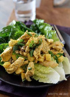 Curried Chicken & Apple Salad