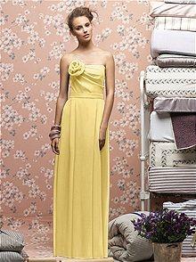 #Lela Rose Bridesmaids #yellow #bridesmaid #dress  Yellow Dress #2dayslook #fashion #nice #YellowDress  www.2dayslook.nl