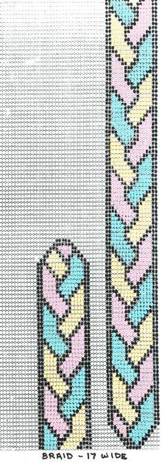 loom beadwork pattern braid... if i ever use my bead loom again