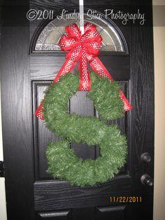 garland initial for front door