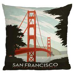 Anderson Design Group San Francisco Pillow