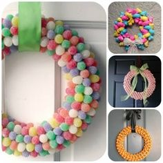 how to make wreaths with candy | How To Make A Candy Wreath!