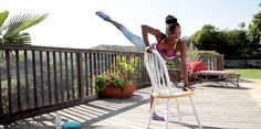 This barre-inspired workout can tone and tighten everything, anywhere.