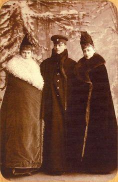 c1889 - Alexandra, Grand Duke Ernest  Elizabeth Feodorovna