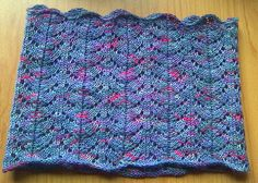 Free Knitting Pattern - Cowls and Neck Warmers: Lace Cowl