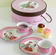 Beautiful tea sets for 2