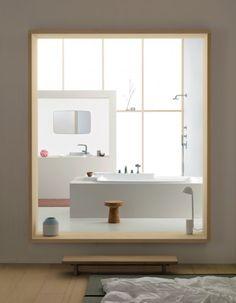baths, bathroom interior design, frame, modern bathroom design, bouroullec brother, bathroom designs, axor, modern bathrooms, design bathroom