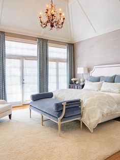 Steel Blue: French Glamour - New Ways to Decorate With Shades of Blue on HGTV