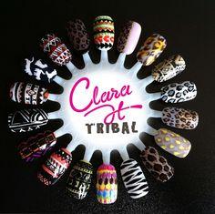 tribal + leopard inspiration
