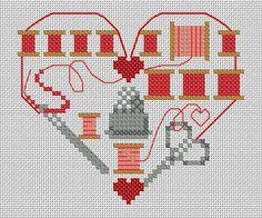 Coeur de Brodeuse