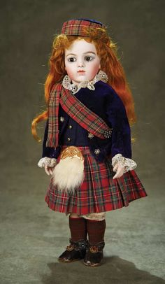 Bru Jne in Scottish tartan