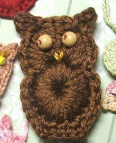 PATTERN Crochet an Easy Owl Ornament or by susanlinnstudio www.etsy.com