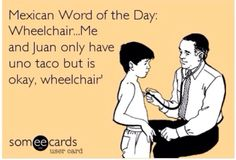 Wheelchair!!   Ecard, ecards.