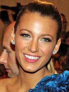 her makeup is always perfection.