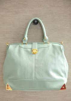 City Girl Mint Purse