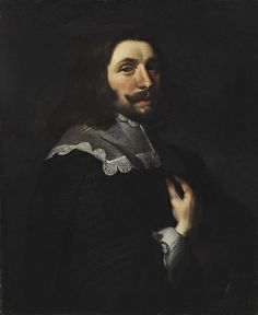 Portrait of a Man, ca. 1600-1650, Unidentified, Formerly attributed to Godfrey Kneller, oil on canvas, approx. 29 1/2 x 24 1/2 in. (74.9 x 62.2 cm), Smithsonian American Art Museum, Bequest of Mabel Johnson Langhorne, 1956.11.29