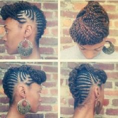 Now this is a fierce updo