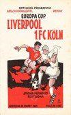 Liverpool v FC Koln  March 1965