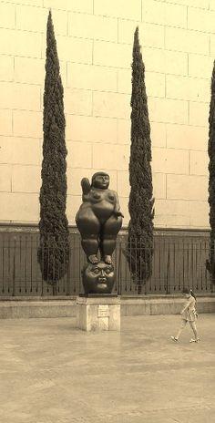 Botero at Medellin.