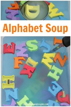 Making alphabet soup