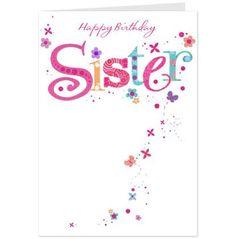 Happy Birthday Sister Celebr Birthday, Birthday Card, Gift, Birthday Sister, Happy Birthdays, Fantast Card, Birthday Quot, 1St Birthdays, Happi Birthday