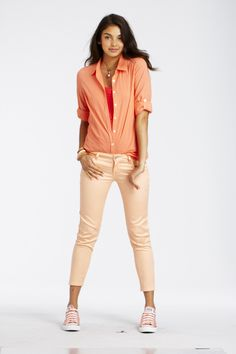 Super Skinny Color Ankle Crop