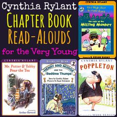 Cynthia Rylant Chapter Book Read-Alouds for the Very Young
