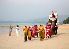 A traditional wedding