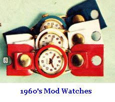 ...to the hot pink one I had...Mod Watches