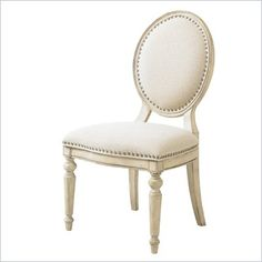 Lexington Twilight Bay Byerly Side Chair in Antique Linen