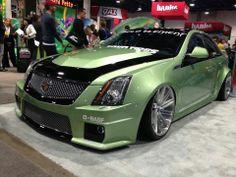 Caddy car garag, dream car, custom car