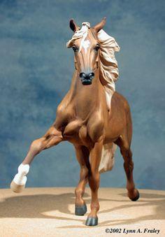 Laf'n Bear LLC Resin Horses