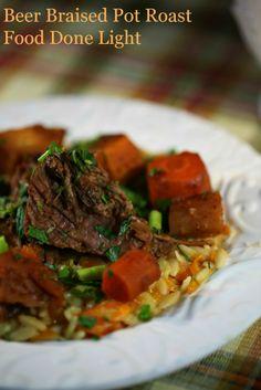 Beer Braised Pot Roast www.fooddonelight.com